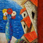 Ventana Al Mar Art Print