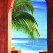 Ventana Al Paraiso Art Print