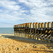 Ventnor Beach Groyne Art Print