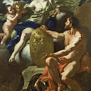 Venus At The Forge Of Vulcan Art Print