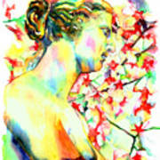 Venus De Milo Art Print by Christy  Freeman