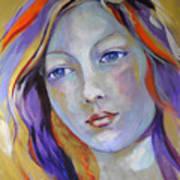Venus In Iridescents Art Print