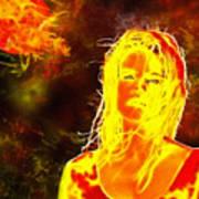 Venus Is Home Art Print