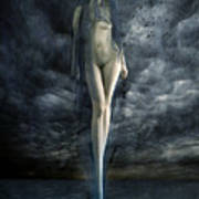 Venus Noir Art Print