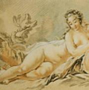 Venus Resting Art Print