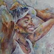 Venus Williams - Portrait 1 Art Print