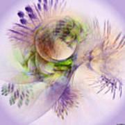 Venusian Microcosm Art Print