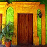 Veranda El Quilete Art Print