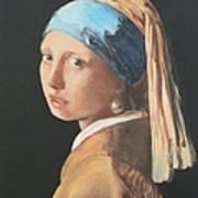 Vermeerish Art Print