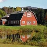 Vermont Barn Art Print