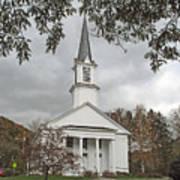 Vermont Church Art Print
