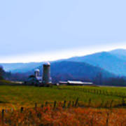 Vermont Farm Art Print by Bill Cannon