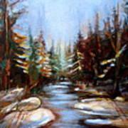 Vermont Stream Art Print