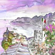Vernazza In Italy 03 Art Print