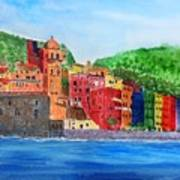 Vernazza Italy Art Print