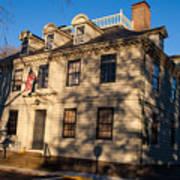 Vernon House Newport Rhode Island Art Print