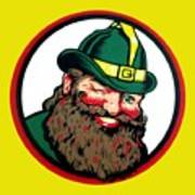 Vernors Ginger Ale - The Vernors Gnome Art Print