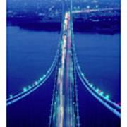 Verrazano Bridge, Ny Art Print