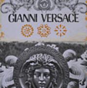 Versace Logo Art Print