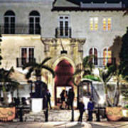 Versace Mansion South Beach Art Print