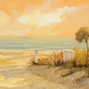 Verso La Spiaggia Art Print