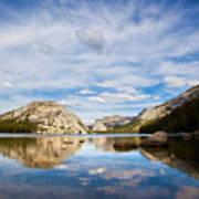 Vertical Version Of Lake Tenaya Print by Mimi Ditchie Photography