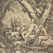 Vertumnus And Pomona, 1605  Art Print