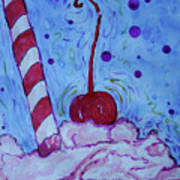 Very Cherry Soda Art Print