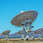 Very Large Array Side View Art Print