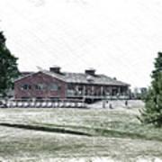 Vesper Hills Golf Club Tully New York Pa 01 Art Print