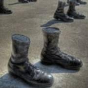Veteran's Memorial Walk Art Print