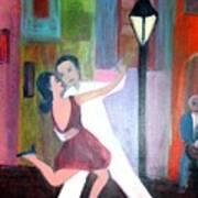 Veux Tu Tango Art Print
