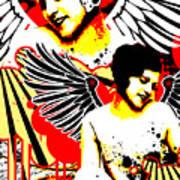 Vexed Angel Art Print