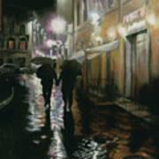 Via Della Spada - Firenze, Italia Art Print