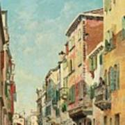Via San Giorgio Art Print