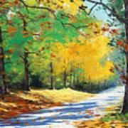 Vibrant Autumn Art Print