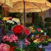 Vibrant Blooms Art Print