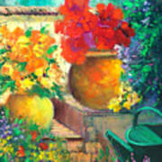 Vibrant Garden Art Print