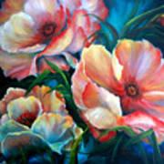 Vibrant Poppies Art Print