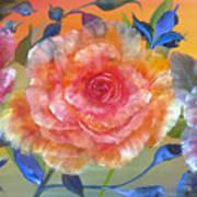 Vibrant Roses Art Print