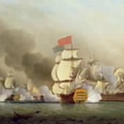 Vice Admiral Sir George Anson's Print by Samuel Scott