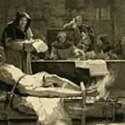 Victim Of The Spanish Inquisition Art Print