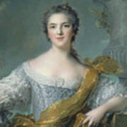 Victoire De France At Fontevrault Art Print