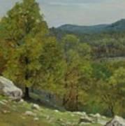 Victor Coleman Anderson  1882  1937  Rocky Uplands 1921 Art Print