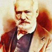 Victor Hugo, Literary Legend Art Print