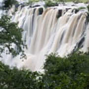 Victoria Falls Waterfall Framed Art Print