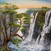 Victoria Falls Zimbabwe  Art Print