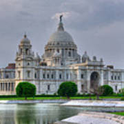 Victoria Memorial Hall Calcutta Kolkata Art Print