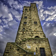 Victoria Tower Castle Hill Huddersfield 4 Art Print