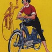 Victoria Vicky Iv - Motorcycle - Vintage Advertising Poster Art Print